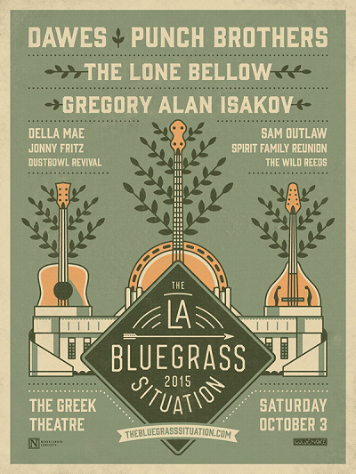 The Los Angeles Bluegrass Situation 2015 Greek Theatre