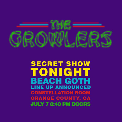 The Growlers Constellation Room 2015