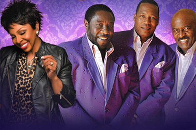 Gladys Knight The O'Jays Los Angeles Microsoft Theater 2015
