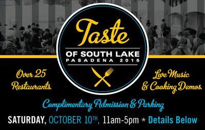 Taste of South Lake Pasadena 2015