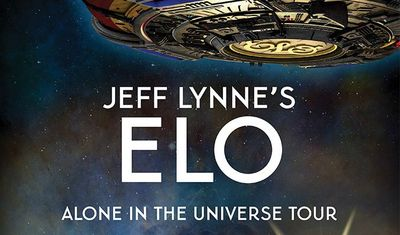 Jeff Lynne's ELO Alone in the Universe Tour Fonda Theatre Hollywood Los Angeles 2015 Electric Light Orchestra