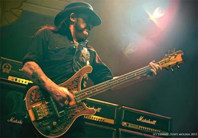 Ian Fraser Lemmy Kilmister Motorhead 2015 Rest In Peace Memorial 1945 Metal God