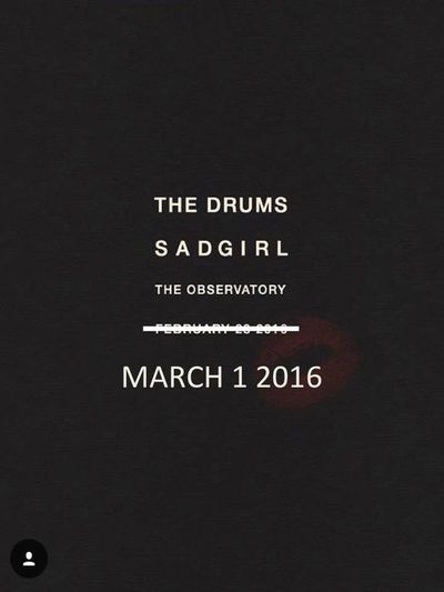 The Drums Observatory Santa Ana 2016 Orange County