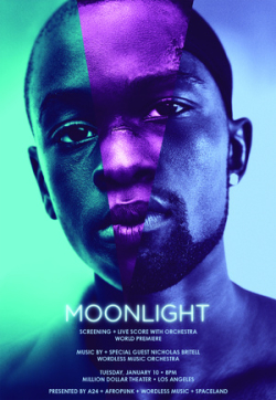 Moonlight Screening Million Dollar Theatre Los Angeles DTLA Wordless Music Orchestra Conductor Ryan McAdams Nicholas Britell Barry Jenkins