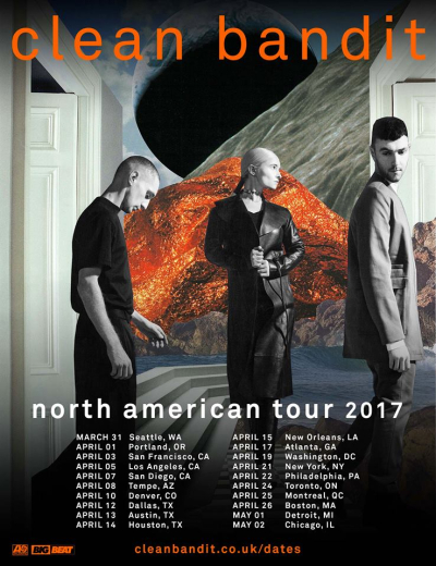 Clean Bandit North American Tour 2017