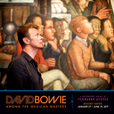 David Bowie Among the Mexican Masters Forest Lawn Memorial Park 2017 Exhibit