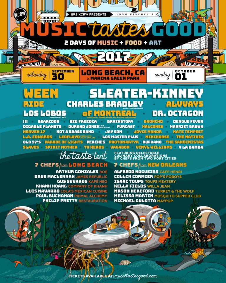 Music Tastes Good 2017 Marina Green Park Long Beach