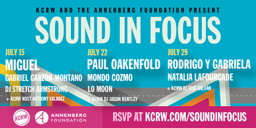 Sound In Focus 2017 Los Angeles Annenberg Space For Photography Miguel Paul Oakenfold Rodrigo y Gabriela Free Concert Series RSVP