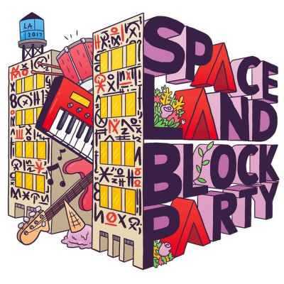 Spaceland Block Party 2017 The Row DTLA Joey Bada$$ Big Wild The Horrors Betty Who Porches Tijuana Panthers