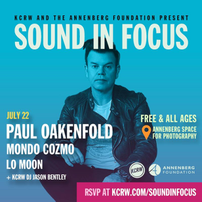 Sound in Focus 2017 Los Angeles Annenberg Space for Photography Paul Oakenfold Mondo Cozmo Lo Moon DJ Jason Bentley Free Concert Series RSVP