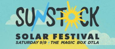 Sunstock Solar Festival 2017 Los Angeles Magic Box DTLA Ra Ra Riot Robert DeLong Run River North Wild Cub