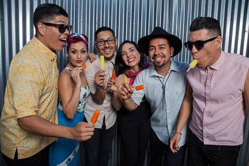 Las Cafeteras 2017 Los Angeles Fonda Theatre Hollywood Tastes Like LA