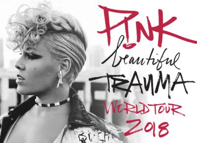 Pink Staples Center Los Angeles DTLA Forum Inglewood Honda Center Anaheim Orange County Beautiful Trauma World Tour 2018