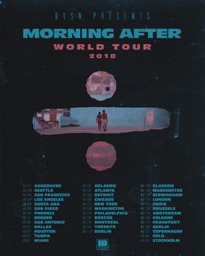 DVSN Morning After World Tour 2018