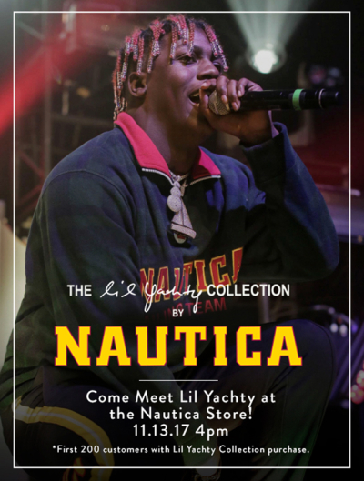 Lil Yachty Nautica Collection Meet and Greet Citadel Outlets 2017