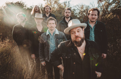Nathaniel Rateliff and the Night Sweats Greek Theatre Los Angeles 2018 Tearing at the Seams