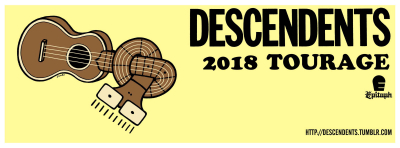 Descendents Ventura Theater 2018 Tourage