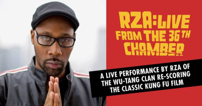 RZA Live From the 36th Chamber Palace Theatre DTLA Los Angeles The 36th Chamber of Shaolin 2018 Wu-Tang Clan