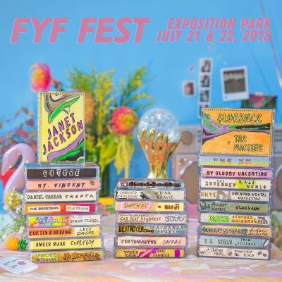 FYF Fest 2018 Los Angeles Exposition Park Music Festival Janet Jackson Florence and the Machine St. Vincent The XX My Bloody Valentine