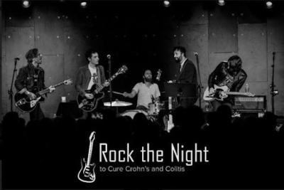 Rock the Night 2018 Los Angeles Teragram Ballroom Downtown A Benefit to Cure Crohn's and Colitis Butch Walker Jim James My Morning Jacket Jakob Dylan The Wallflowers