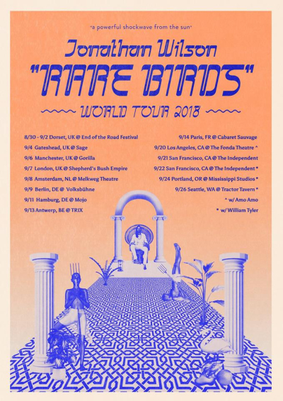 Jonathan Wilson Rare Birds World Tour 2018
