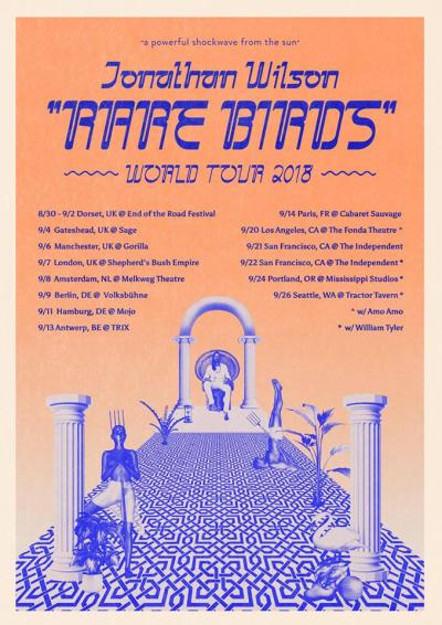 Jonathan Wilson Rare Birds World Tour 2018