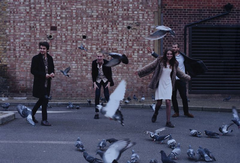 Wolf Alice - Photo by James Grant