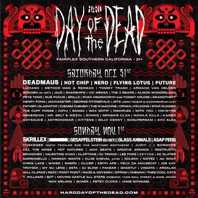 HARD Day of the Dead 2015 Pomona Fairplex