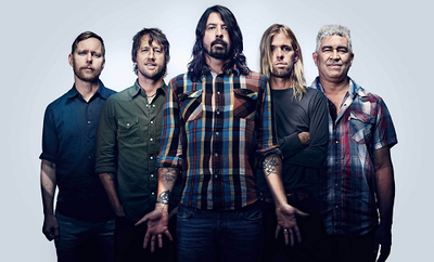 Foo Fighters Emmys The Love Ride Honda Center The Forum Inglewood 2015 Los Angeles