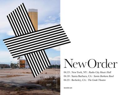 New Order USA Tour 2017