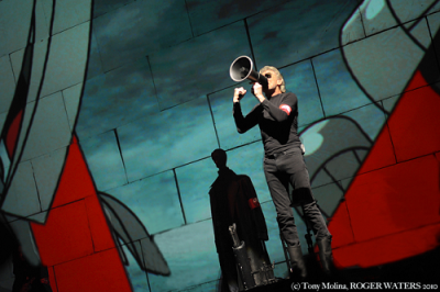 Roger Waters 2017 Los Angeles Staples Center Downtown Us Them Tour Pink Floyd Third Show
