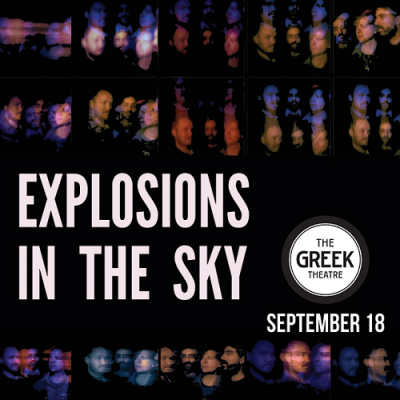 Explosions in the Sky 2017 Los Angeles Greek Theatre Los Feliz The Wilderness