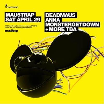 Deadmau5 DTLA Warehouse Los Angeles Afterparty 2017