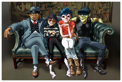 Gorillaz 2017 Los Angeles Forum Inglewood Humanz North American U.S. Tour