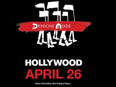 Depeche Mode Hollywood Bowl Los Angeles 2017 Spirit Secret Show