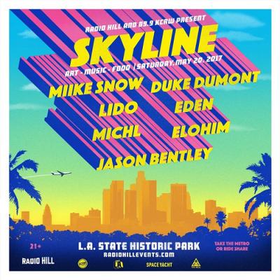 Skyline 2017 Los Angeles State Historic Park Music Festival Miike Snow Duke Dumont Lido Eden Michl Elohim Jason Bentley