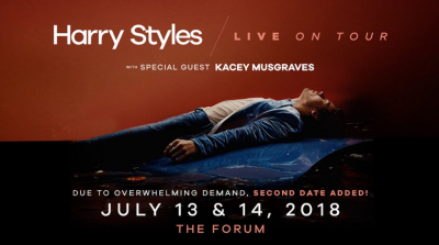 Harry Styles Solo Album Forum Inglewood Live on Tour Kacey Musgraves 2018
