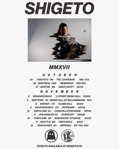 Shigeto Fall Tour 2017