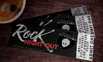 Rock Night Out 2017 Los Angeles El Cid Silver Lake Grandson Best Friends