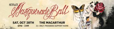 KCRW Masquerade Ball MacArthur DTLA Los Angeles 2017 Halloween The Black Madonna Matthew Dear Tensnake Gemini Rising Lucent Dossier Experience