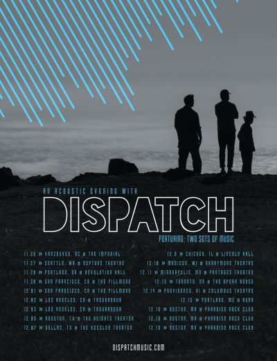 An Acoustic Evening With Dispatch 2017 Tour