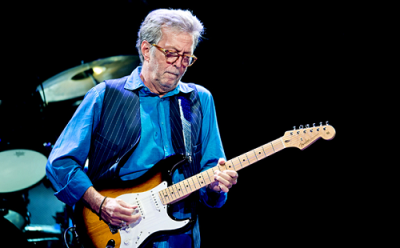 Eric Clapton 2017 Los Angeles Forum Inglewood Gary Clark Jr. Jimmie Vaughan