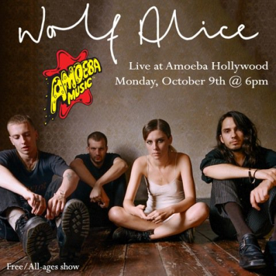 Wolf Alice Amoeba Music Hollywood Los Angeles 2017 Visions of a Life Cal Jam 17 Glen Helen Regional Park
