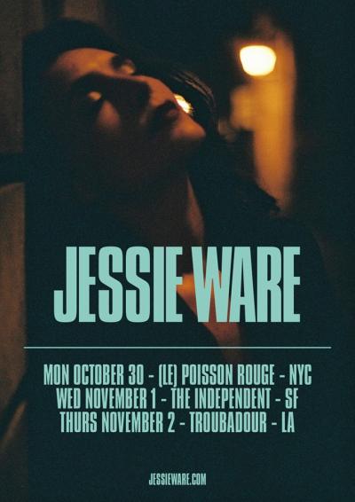 Jessie Ware U.S. Tour 2017