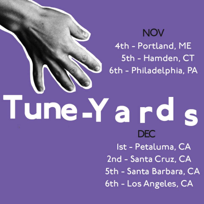 tUnE-yArDs Tour 2017