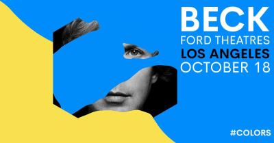 Beck Ford Theatres Los Angeles 2017 Colors