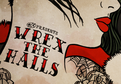 91X Wrex the Halls 2017 San Diego Valley View Casino Center Radio Music Festival Night One Rise Against Run the Jewels The Used