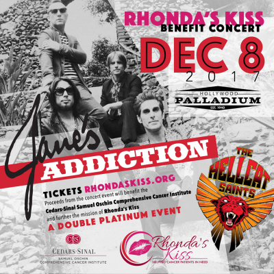Jane's Addiction Hollywood Palladium Los Angeles Rhonda's Kiss Benefit Show 2017 The Hellcat Saints
