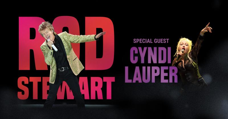Rod Stewart Cyndi Lauper Hollywood Bowl Los Angeles 2018