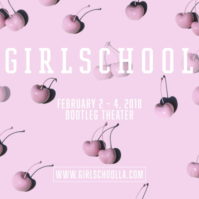 Girlschool 2018 Bootleg Theater Los Angeles Music and Ideas Festival Shirley Manson Kristin Kontrol Jay Som